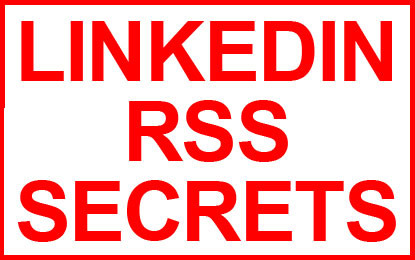 My Infographics – Linkedin RSS Secrets