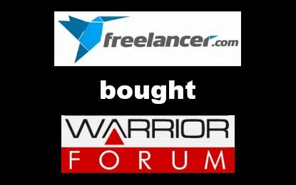 Freelancer.com has bought Warrior Forum
