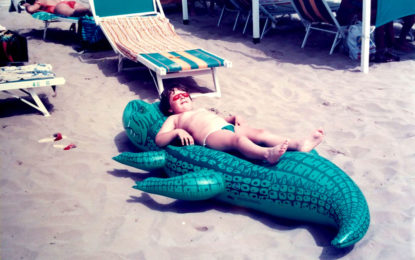 Newsletter 7 – Cookbooks Excellence, Me with Crocodile.