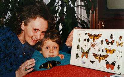 Newsletter 16 – Me with Grandma and Butterflies, Re-Engage Review